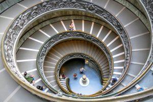 Vatican stairway